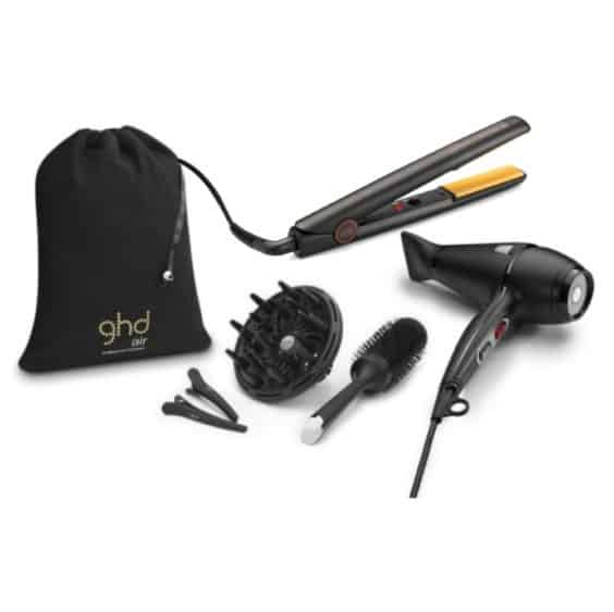 ghd IV Styler and AIR Hairdryer Kit Combo