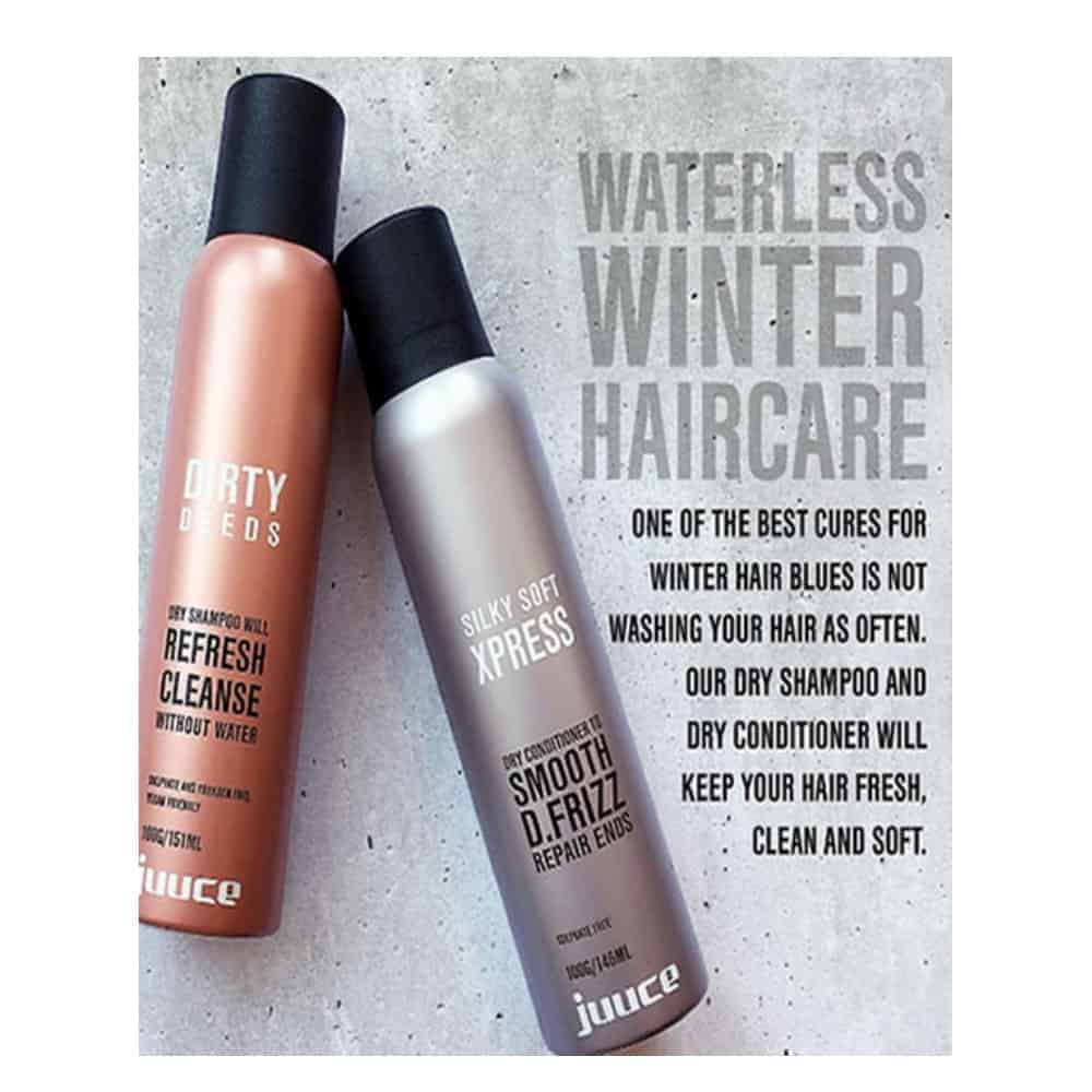 Juuce Dirty Deeds Dry Shampoo and Conditioner Duo Pack 1