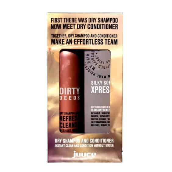 Juuce Dirty Deeds Dry Shampoo and Conditioner Duo Pack