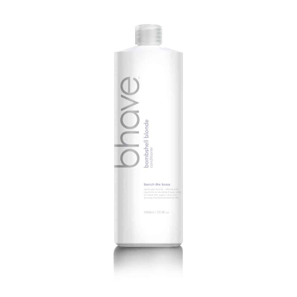 Bhave Bombshell Blonde Conditioner 1 Litre (1000ml) with Free Pump
