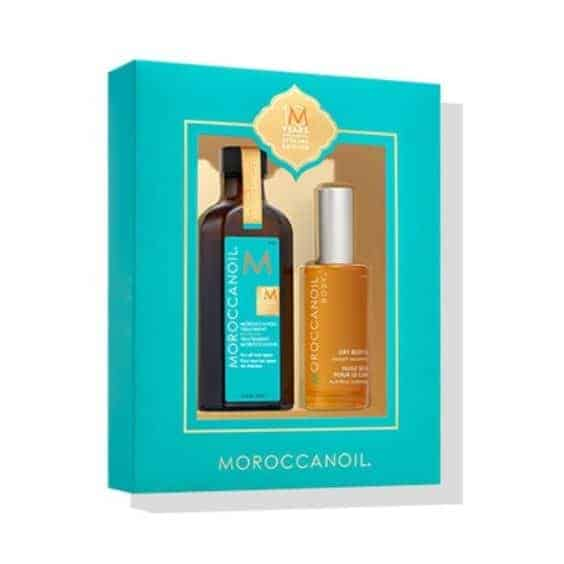 MoroccanOil 10th Anniversary Original Treatment and Body Oil Set