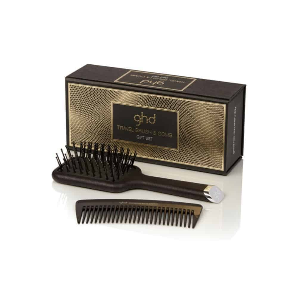 ghd TRAVEL BRUSH AND COMB GIFT SET (2)